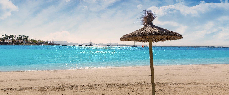 Strand bij Alcúdia