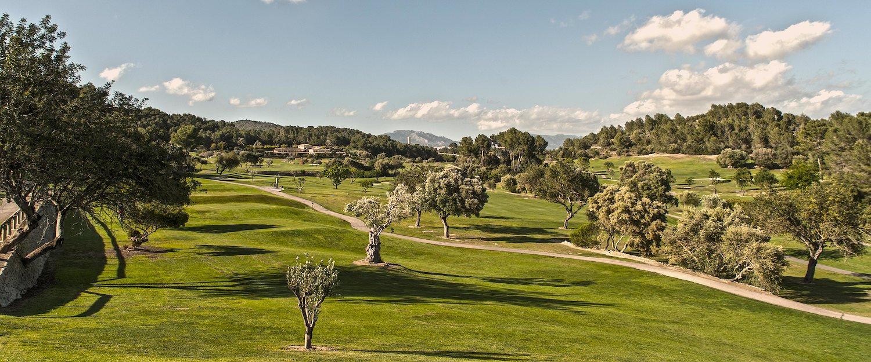 Auch einer der besten Golfplätze Mallorcas befindet sich in Canyamel.