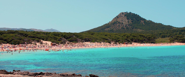 Die Bucht Cala Agulla