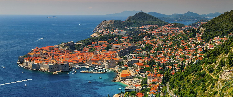 Panorámica de la ciudad de Dubrovnik