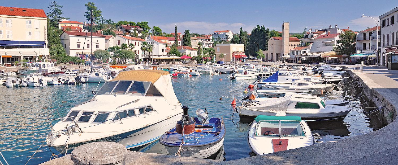 Ferienwohnungen und Ferienhäuser in Malinska