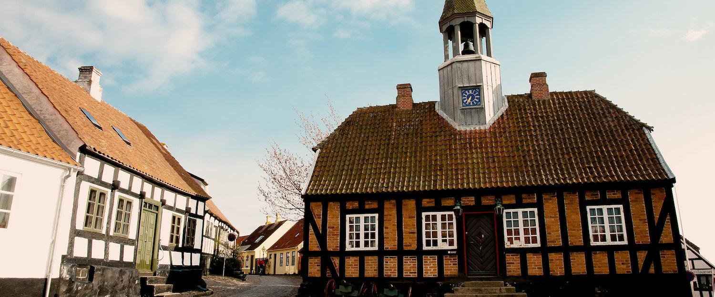 Das alte Rathaus in Ebeltoft