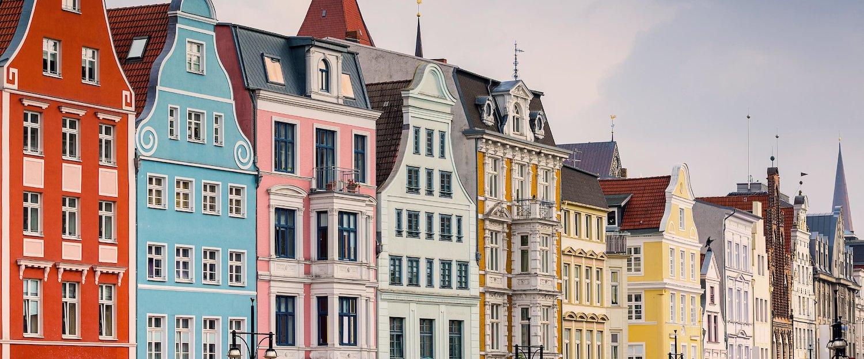 Die Altstadt von Rostock