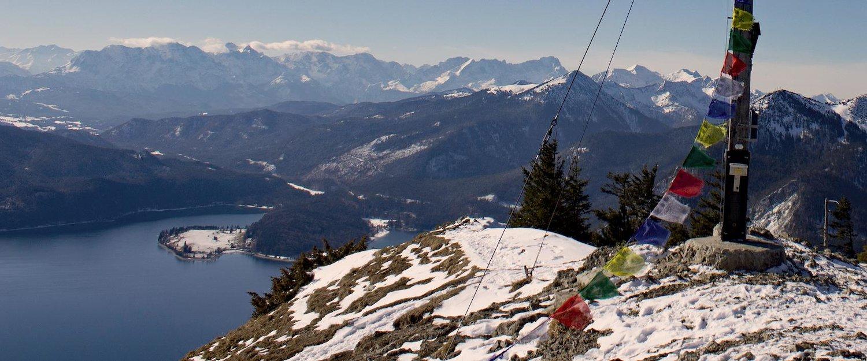 Gipfelkreuz des Jochbergs