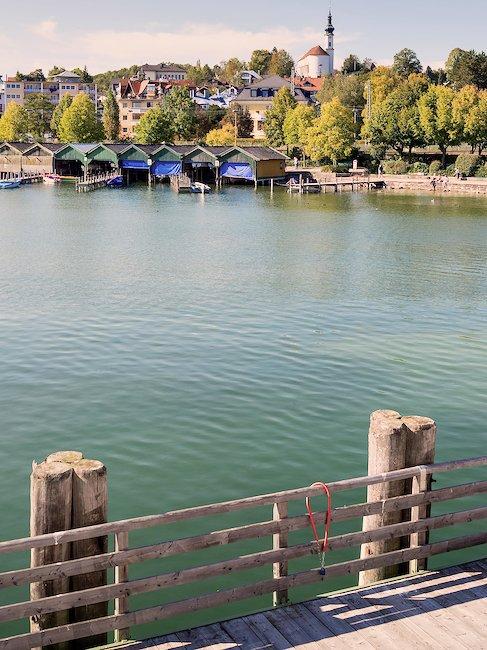 Das Ufer des Starnberger Sees
