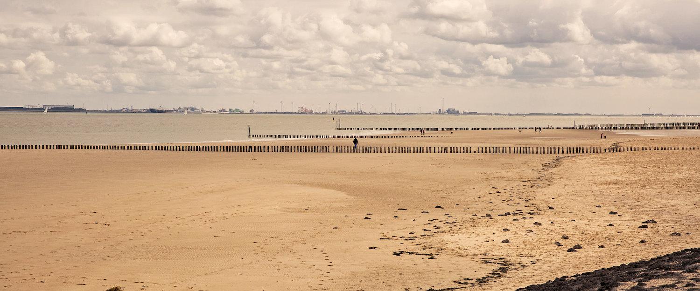 Nordseestrand bei Nieuwvliet