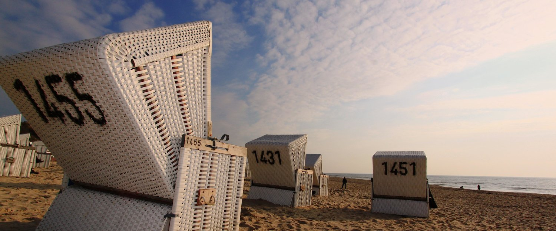 Strandstoelen waar het oog ook naartoe gaat