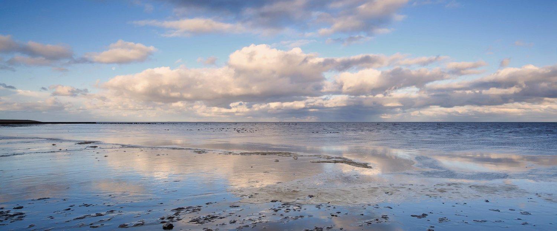 Wolkengebilde über der Nordsee
