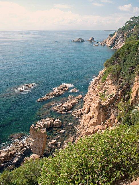 Beeindruckende Steilküste