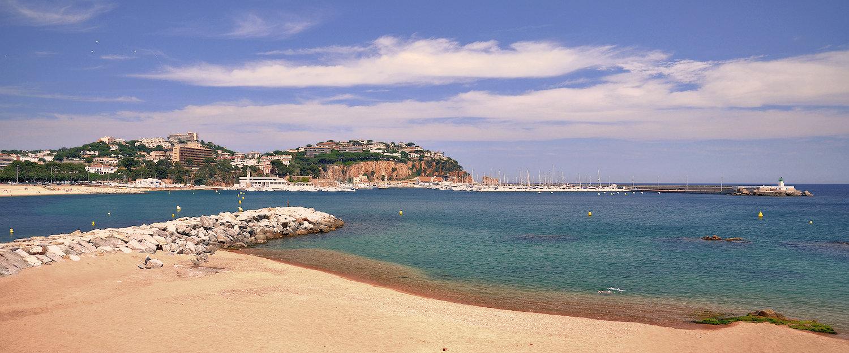 Playa en Sant Feliu de Guíxols