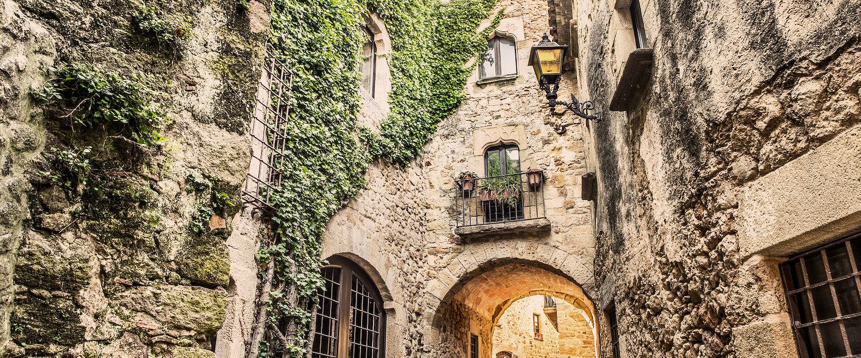 Mittelalterliche Altstadt in Pals
