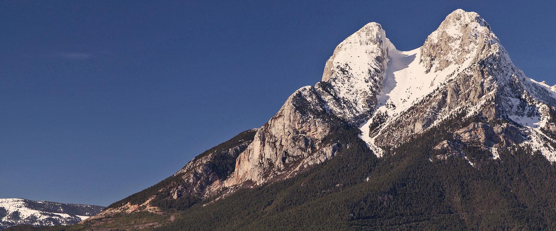 El pico de Pedraforca