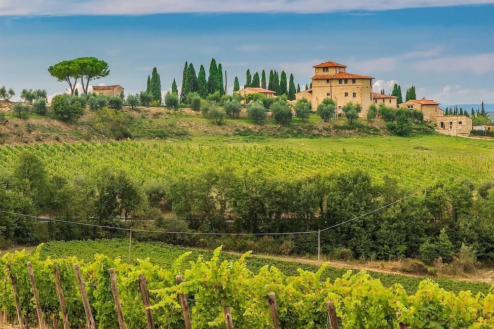 Villas in der Toskana