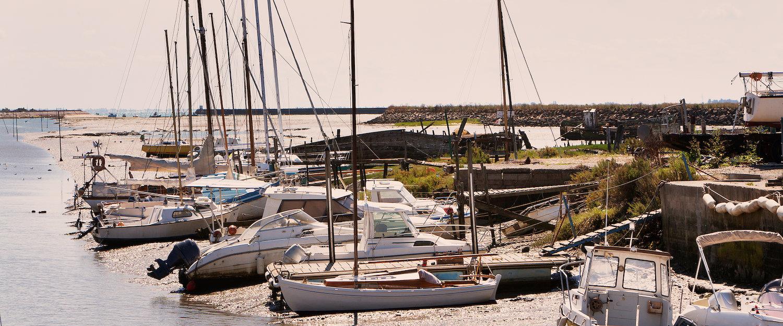 Vue sur le port, Noirmoutier