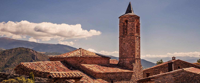 La arquitectura típica del Pirineo Aragones