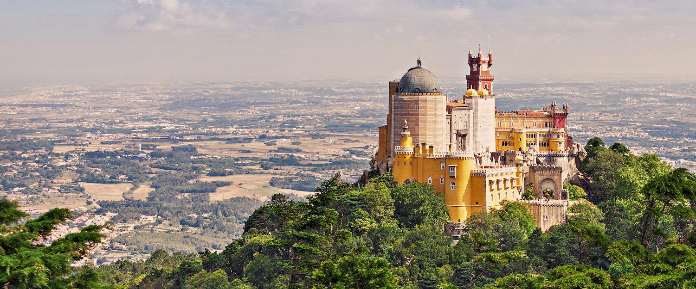 El precioso Palacio nacional da Pena, en Sintra