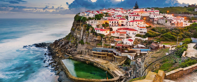 Vista da Vila de Azenhas do Mar