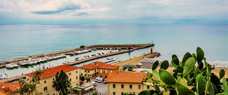 Herrlicher Ausblick über das tyrrenische Meer