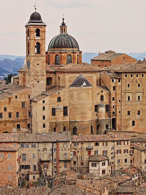 Palazzo ducale di Urbino.