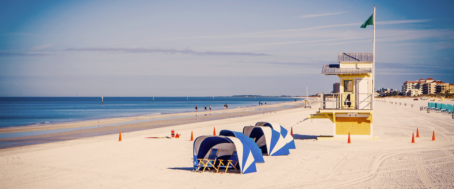 Bungalows in Clearwater Beach