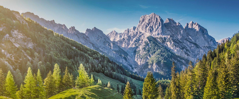 Berge, wohin das Auge reicht
