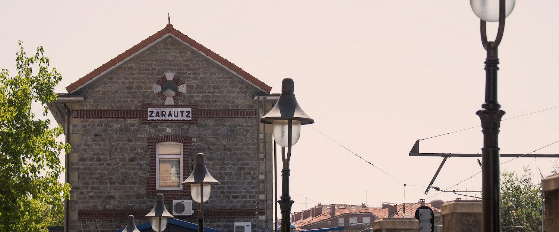 Estación de tren de Zarauz
