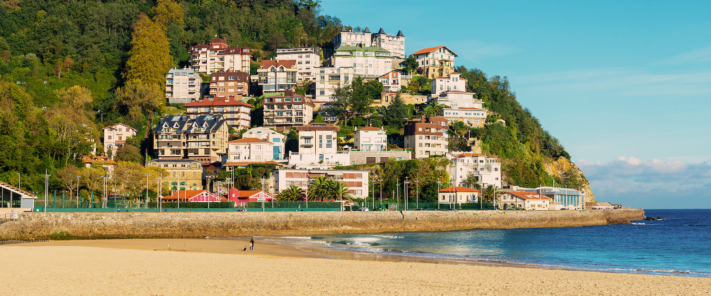 La playa de San Sebastian