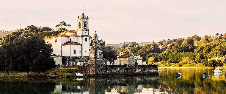 El paisaje típico asturiano
