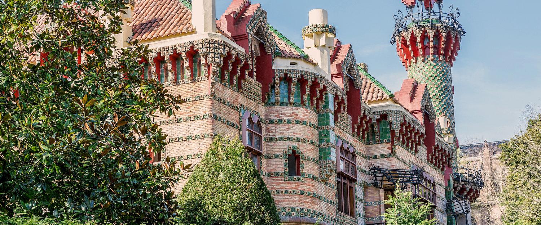 """""""El Capricho"""" de Gaudi en Comillas"""