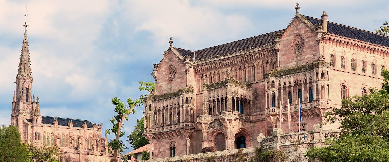 El Palacio de Sobrellano en Comillas