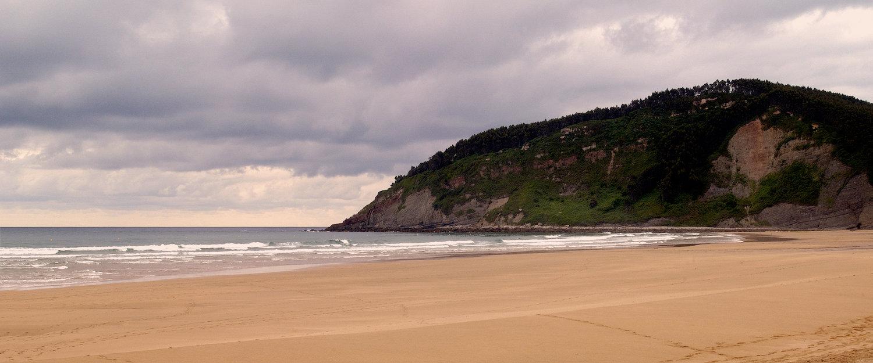 La playa en Villaviciosa