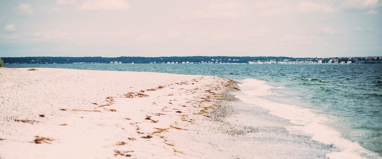 Der Strand von Seeland
