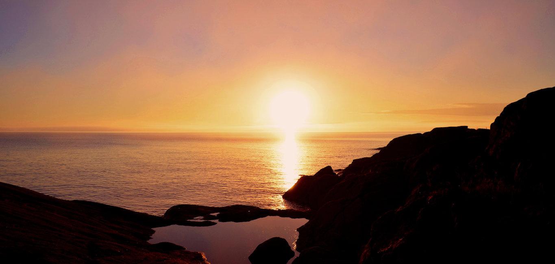 Svensk solnedgång