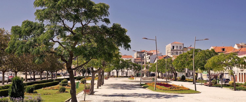 Praça em Vila do conde