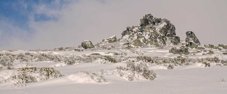 Pico Nevado na Serra da Estrela