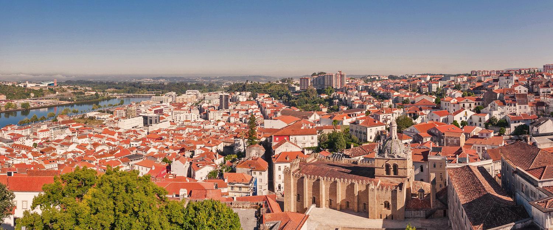 Vista da cidade de Coimbra