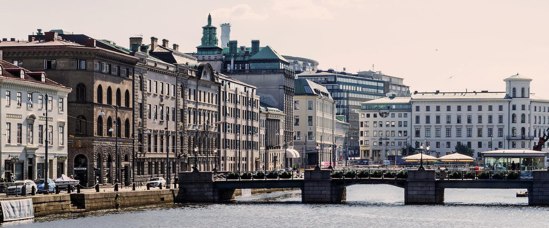 Stadtzentrum Göteborgs