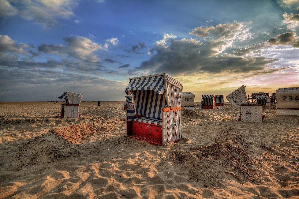 Ferienwohnungen und Ferienhäuser in Friesische Inseln