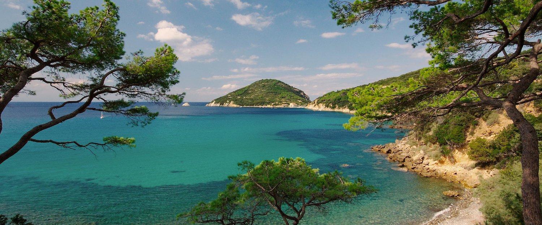Herrliche Bucht auf der Insel Elba