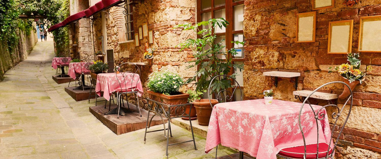 Restaurant in der Toskana