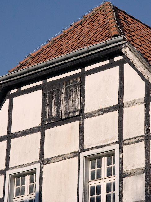 Fachwerkhaus in der Altstadt Ravensburgs