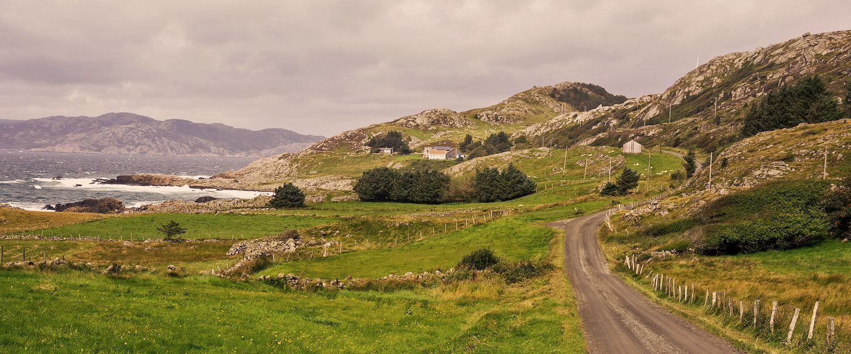 Landskapet på Sørlandet