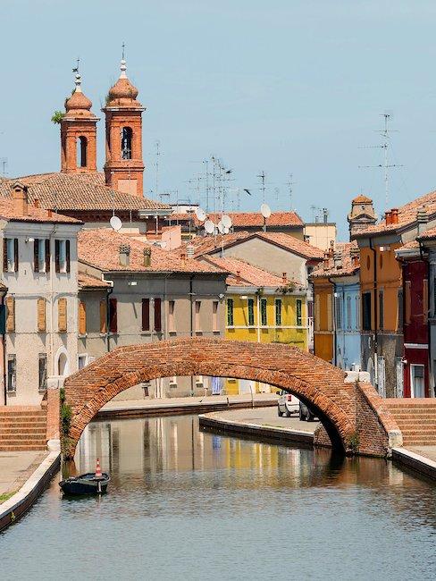 Comacchio, in provincia di Ferrara.