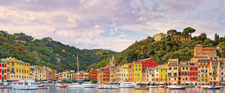 Die pittoreske Stadt Portofino