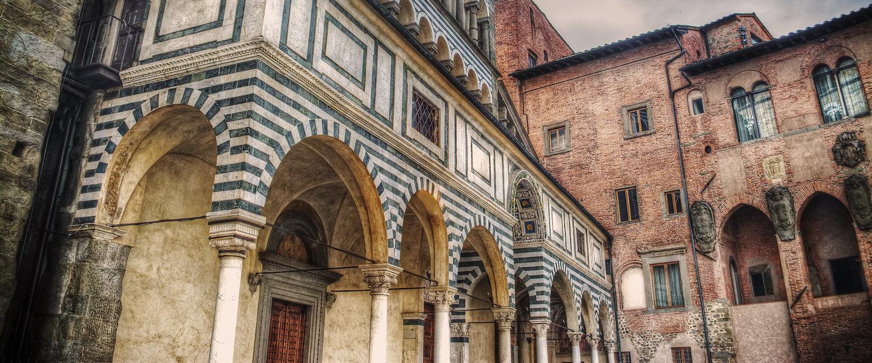 Piazza del Duomo, Pistoia.
