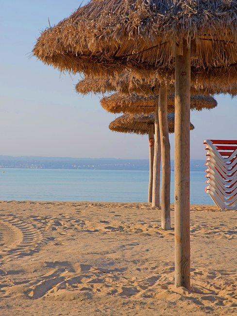Spiaggia deserta.