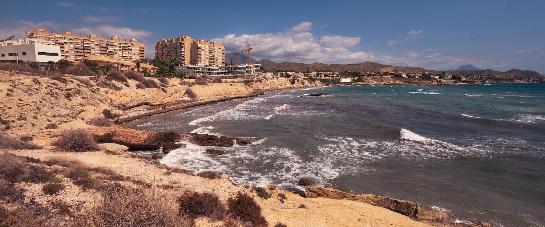 Costa de Playa de San Juan en Alicante