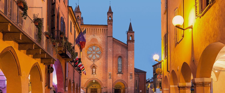 Centro storico di Alba.