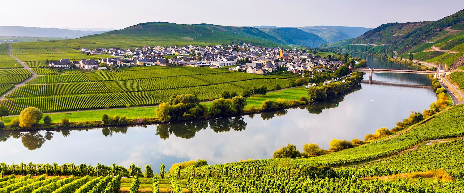 Germany's famous Rhine river