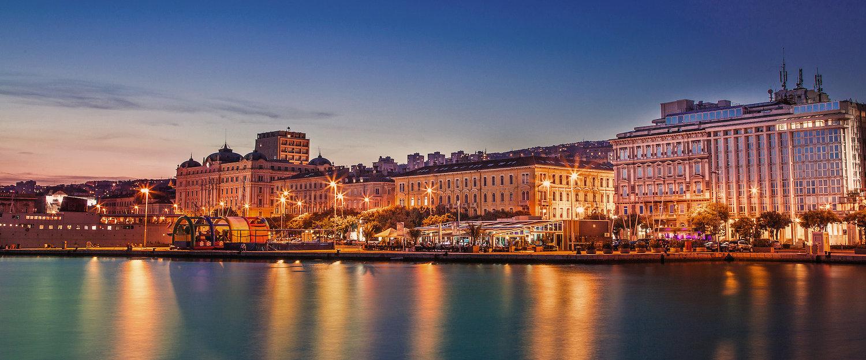 Promenade in Rijeka